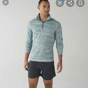 lululemon athletica Sweaters - Lululemon Men's Surge Warm 1/2 Zip